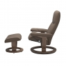 Stressless Promotional Consul Medium Classic Chair and Stool 2