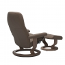 Stressless Promotional Consul Medium Classic Chair and Stool 4