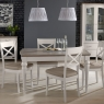 Cookes Collection Geneva Dining Table & 4 X Back Chairs 2