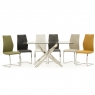 Cookes Collection Anguilla Dining Table & 6 Chairs 1