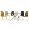 Cookes Collection Anguilla Dining Table & 6 Chairs 2