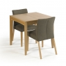Cookes Collection Romy Small Extending Dining Table 4