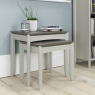 Cookes Collection Romy Soft Grey Nest of Tables 3