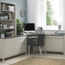 Cookes Collection Romy Soft Grey Corner Desk 4
