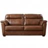 Cookes Collection Lepus Leather 3 Seater Sofa 1