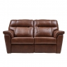 Cookes Collection Lepus Leather 2 Seater Sofa 1