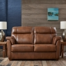Cookes Collection Lepus Leather 2 Seater Sofa 2