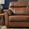 Cookes Collection Lepus Leather 2 Seater Sofa 3