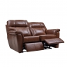 Cookes Collection Lepus Leather 2 Seater Recliner Sofa 2