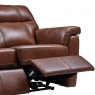 Cookes Collection Lepus Leather 2 Seater Recliner Sofa 3
