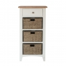 Cookes Collection Palma 1 Drawer 3 Basket Unit 2