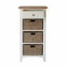 Cookes Collection Palma 1 Drawer 3 Basket Unit 3
