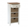 Cookes Collection Palma 1 Drawer 3 Basket Unit 4