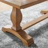 Cookes Collection Nantes Oak Dining Table and 6 Chairs 6