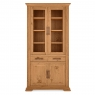 Cookes Collection Nantes Oak Display Cabinet 2