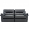 G Plan Seattle Leather 3 Seater 1