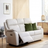 G Plan Kingsbury 3 Seater Recliner in Leather