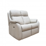 G Plan Kingsbury 2 Seater Leather Recliner Sofa
