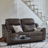G Plan Firth 3 Seater Sofa in Leather 2