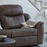 G Plan Firth 3 Seater Sofa in Leather 3