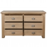 6 Drawer Wide Chest