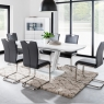 Cookes Collection Lewis Extending Table and 6 Chairs 1
